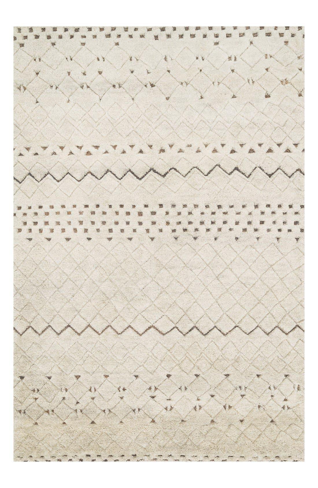 Alternate Image 1 Selected - Loloi 'Tanzania' Wool & Jute Area Rug