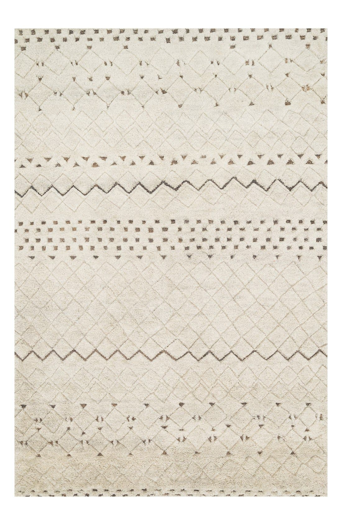 Main Image - Loloi 'Tanzania' Wool & Jute Area Rug