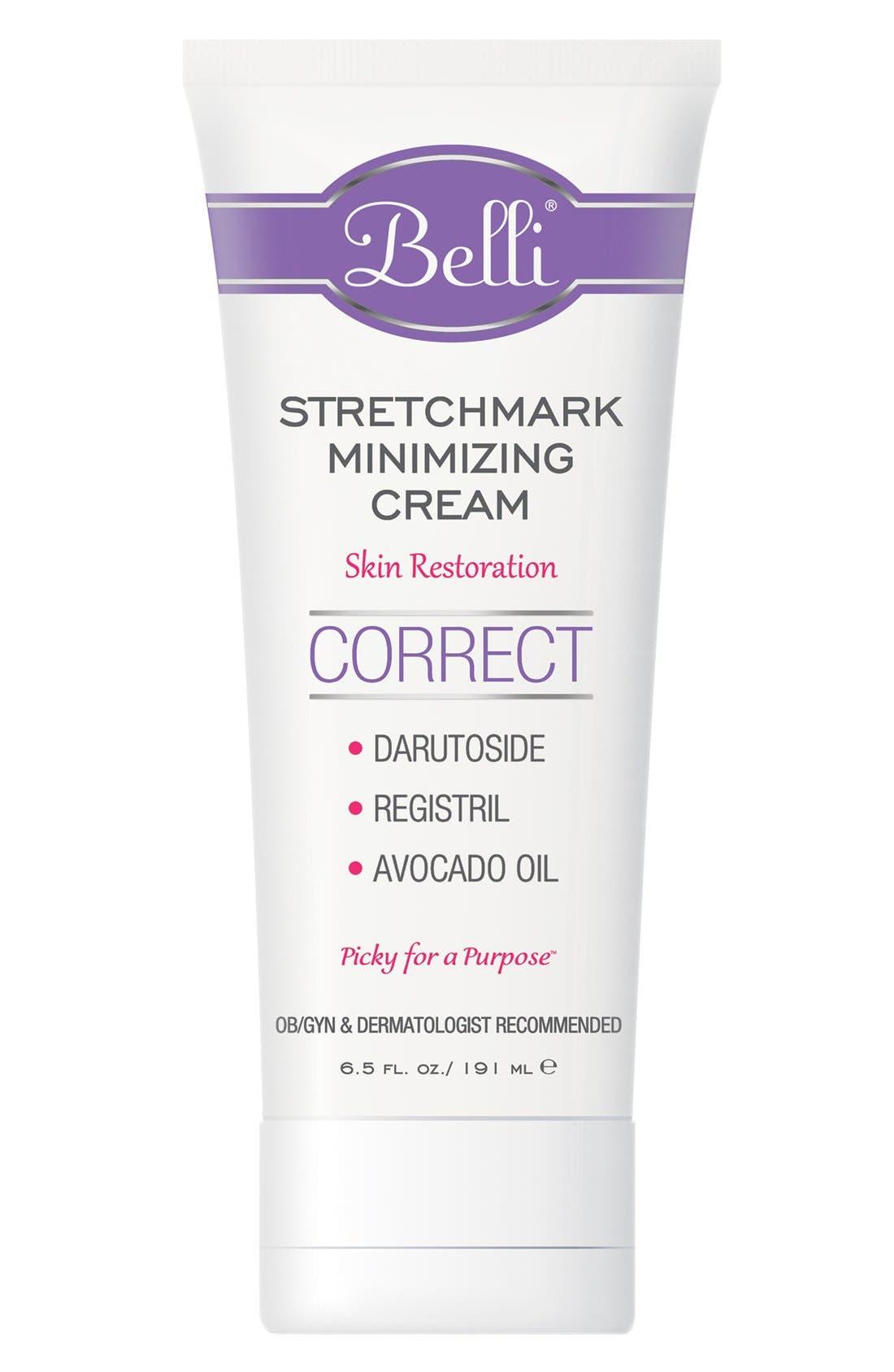 Belli Skincare Maternity Stretchmark Minimizing Cream for Skin Restoration