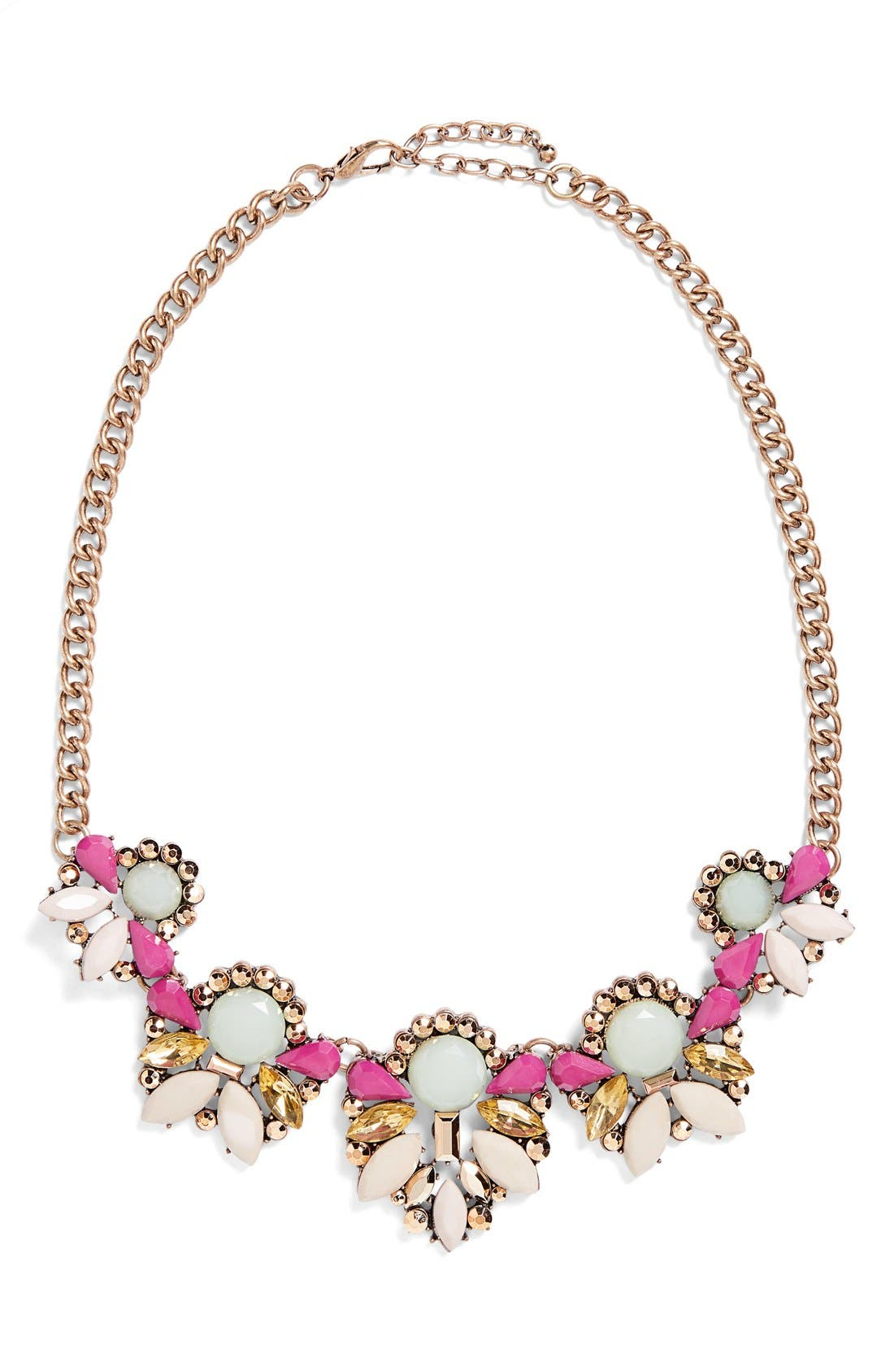 Main Image - Rove + Pearl Crystal Statement Necklace