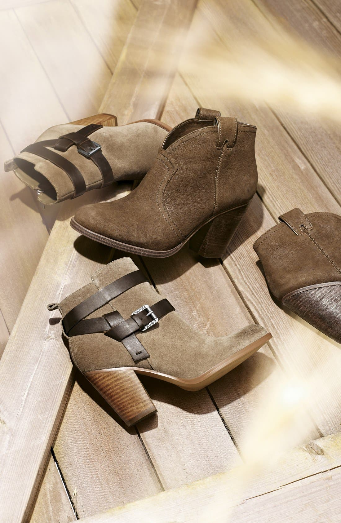 Alternate Image 3  - Vince Camuto 'Hillsy' Almond Toe Ankle Bootie (Women)
