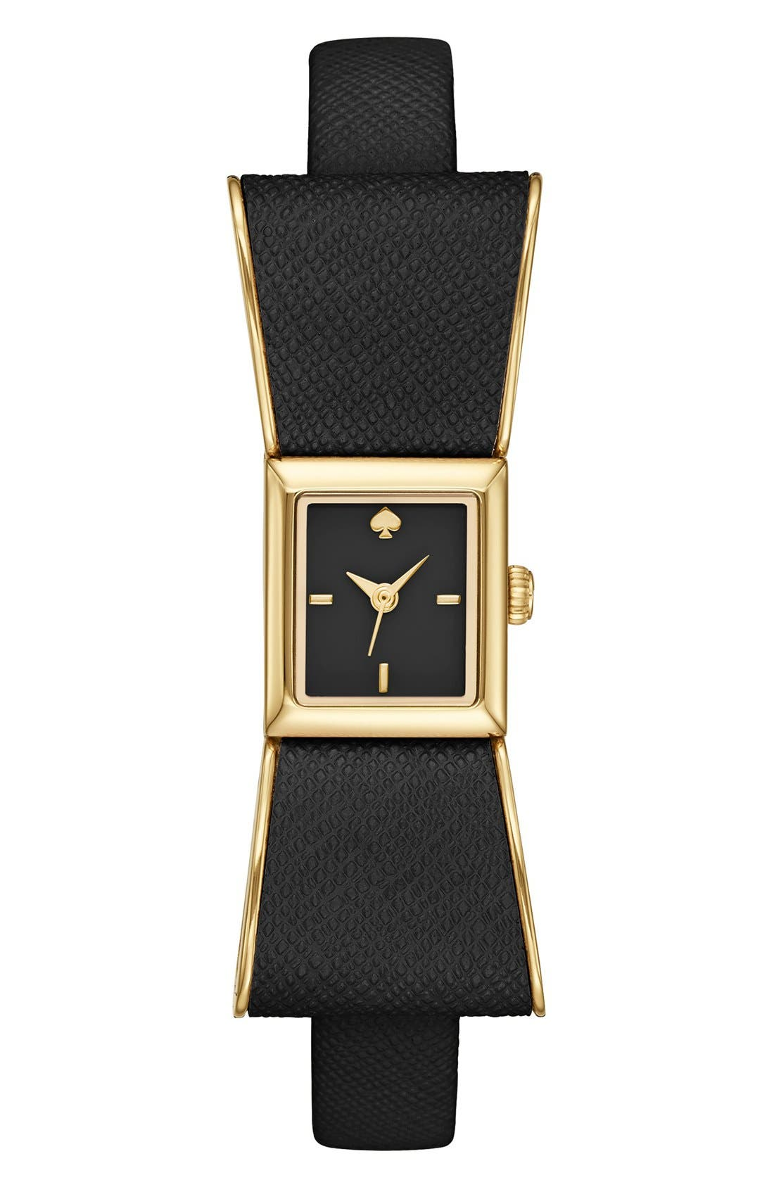 KATE SPADE NEW YORK 'kenmare' bow case watch,