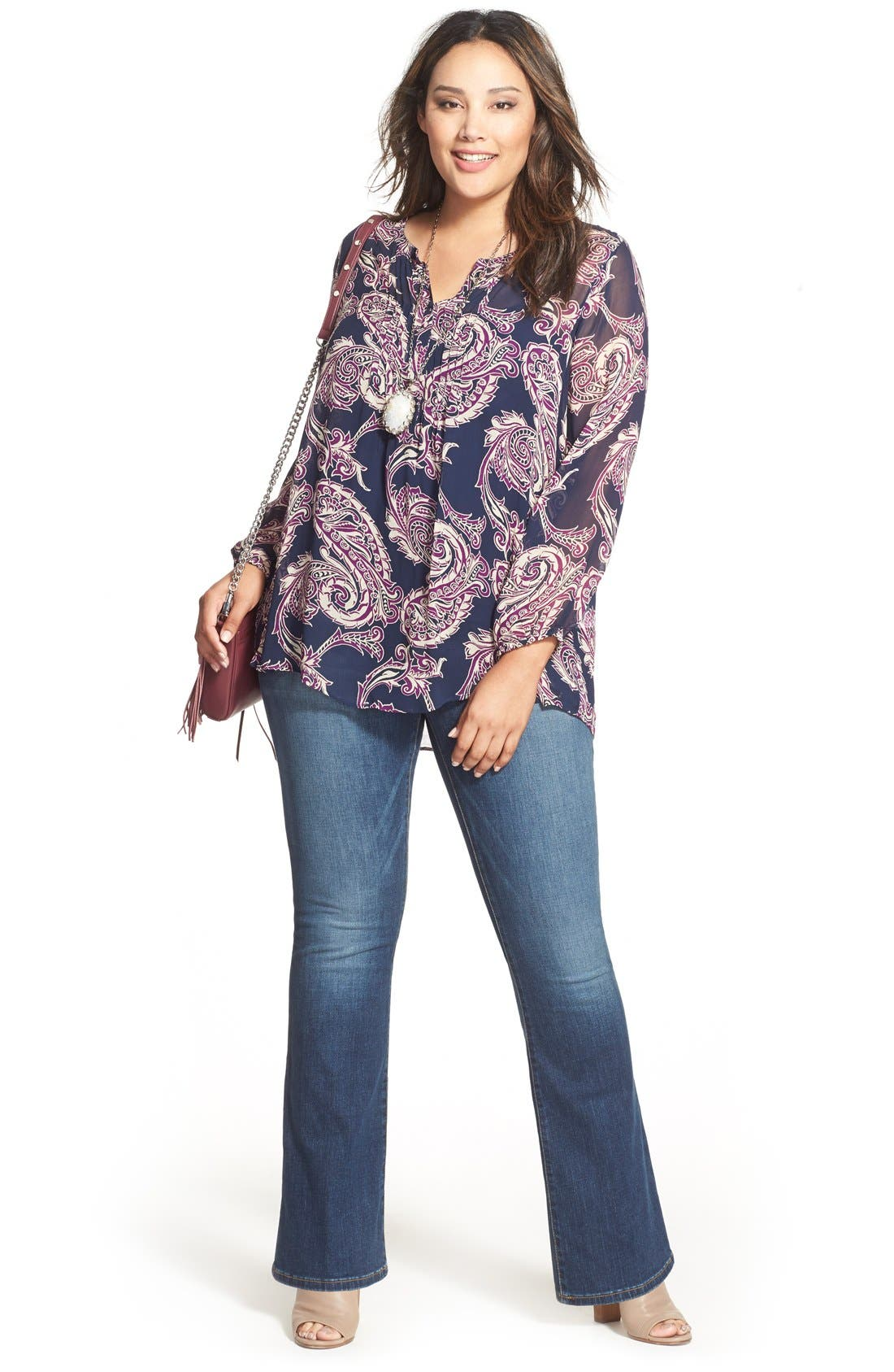 Lucky Brand Tunic & Jeans (Plus Size)