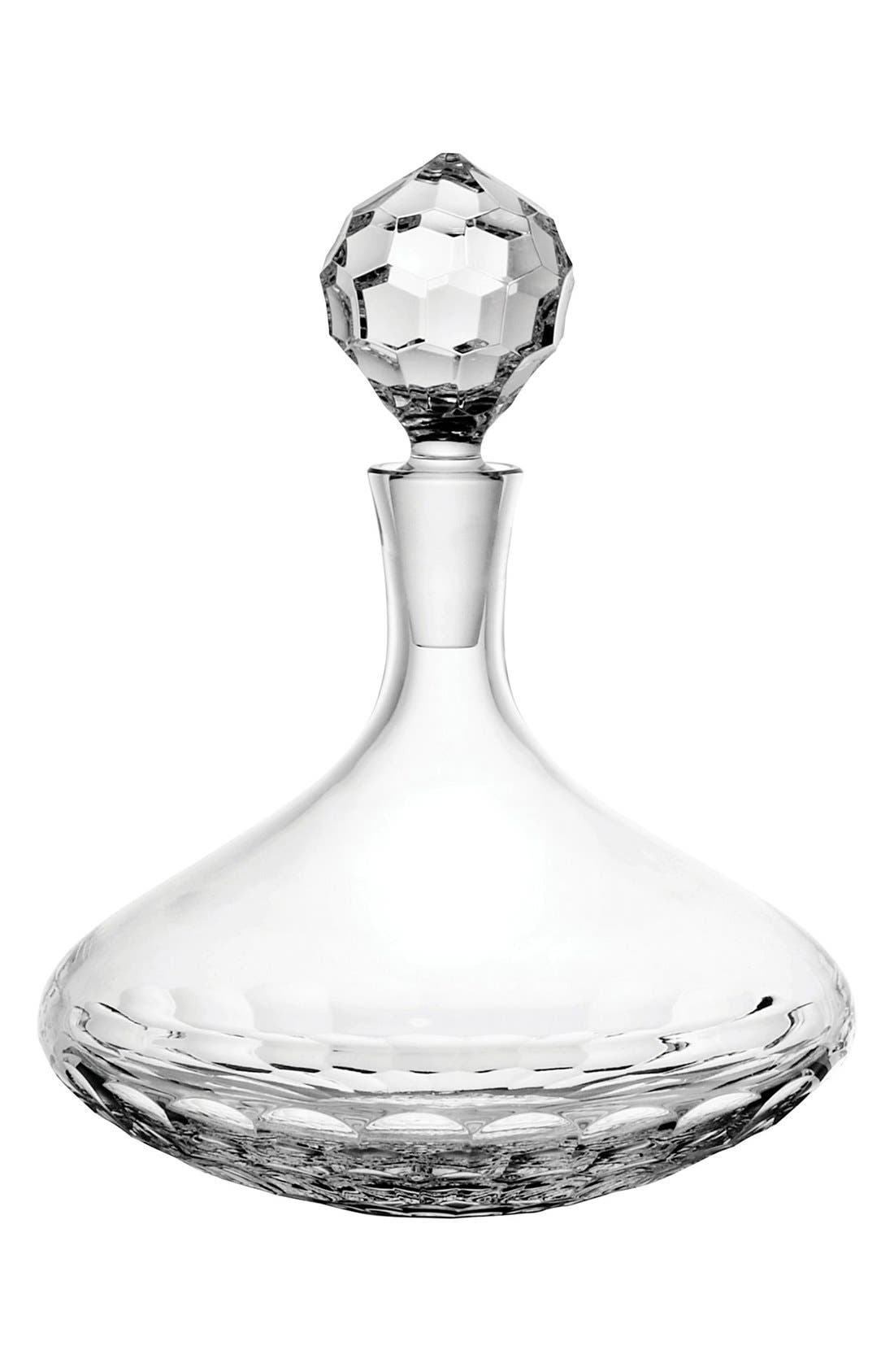 Monique Lhuillier Waterford 'Atelier' Lead Crystal Decanter & Stopper