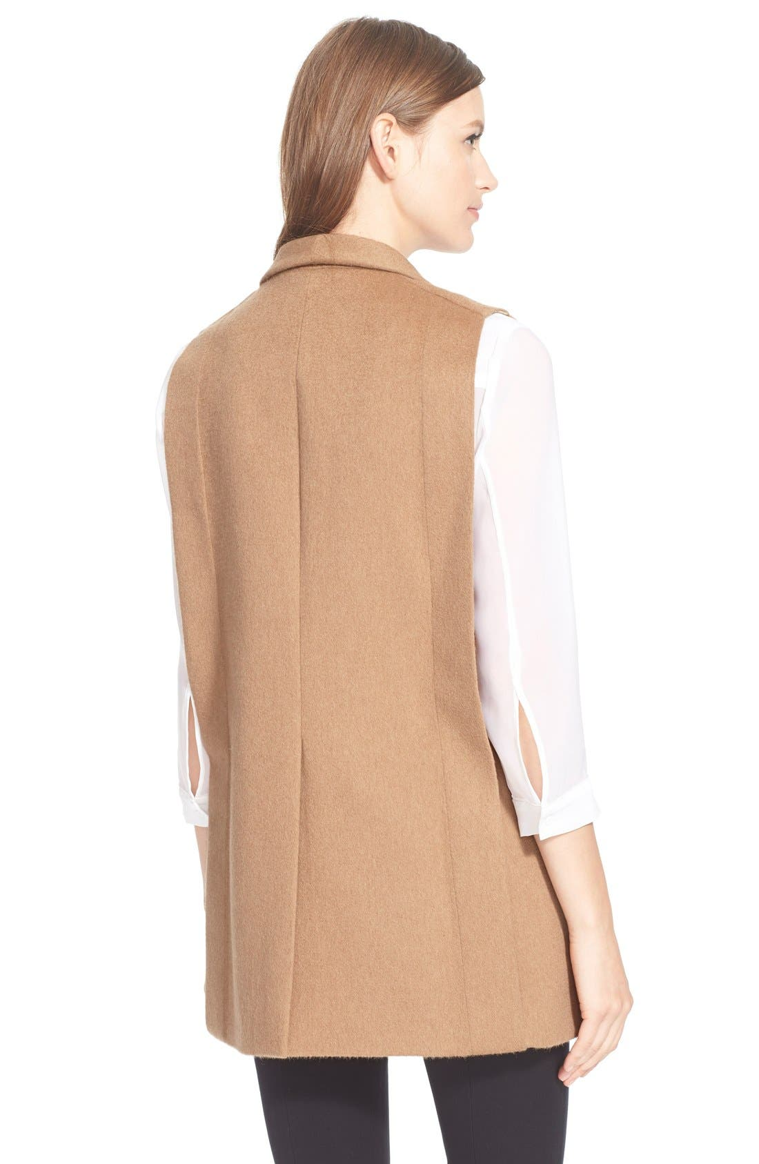 Alternate Image 2  - AYR'The Copper Penguin' SleevelessShawl Collar Jacket