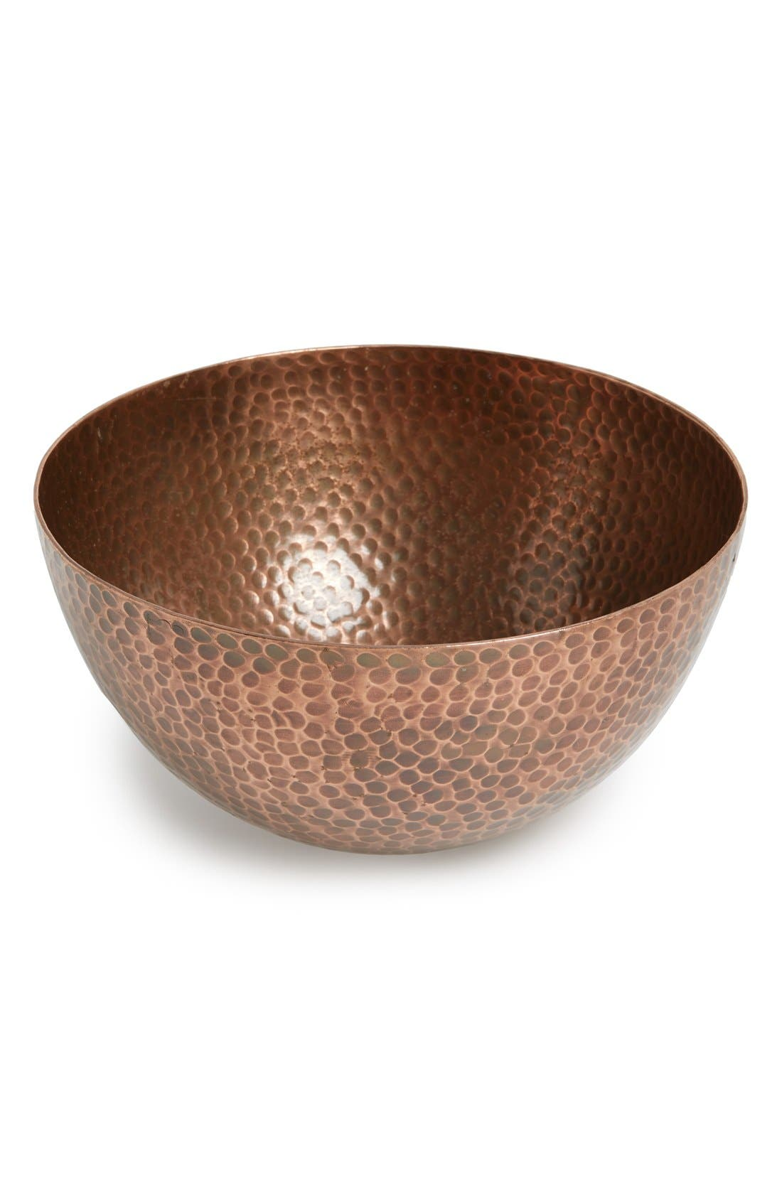 Thirstystone Hammered Copper Bowl