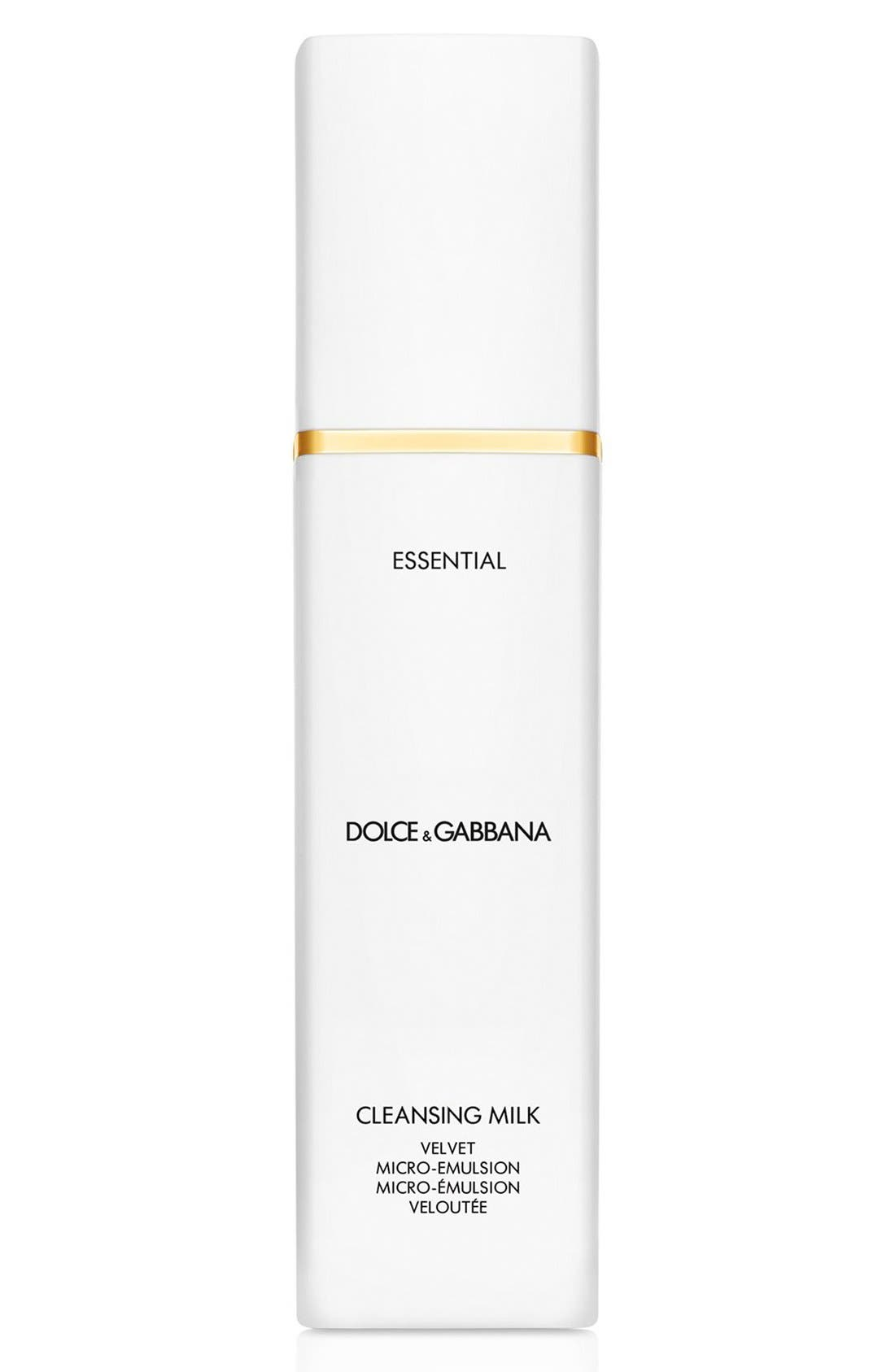 Dolce&Gabbana Beauty 'Essential' Cleansing Milk Velvet Micro-Emulsion
