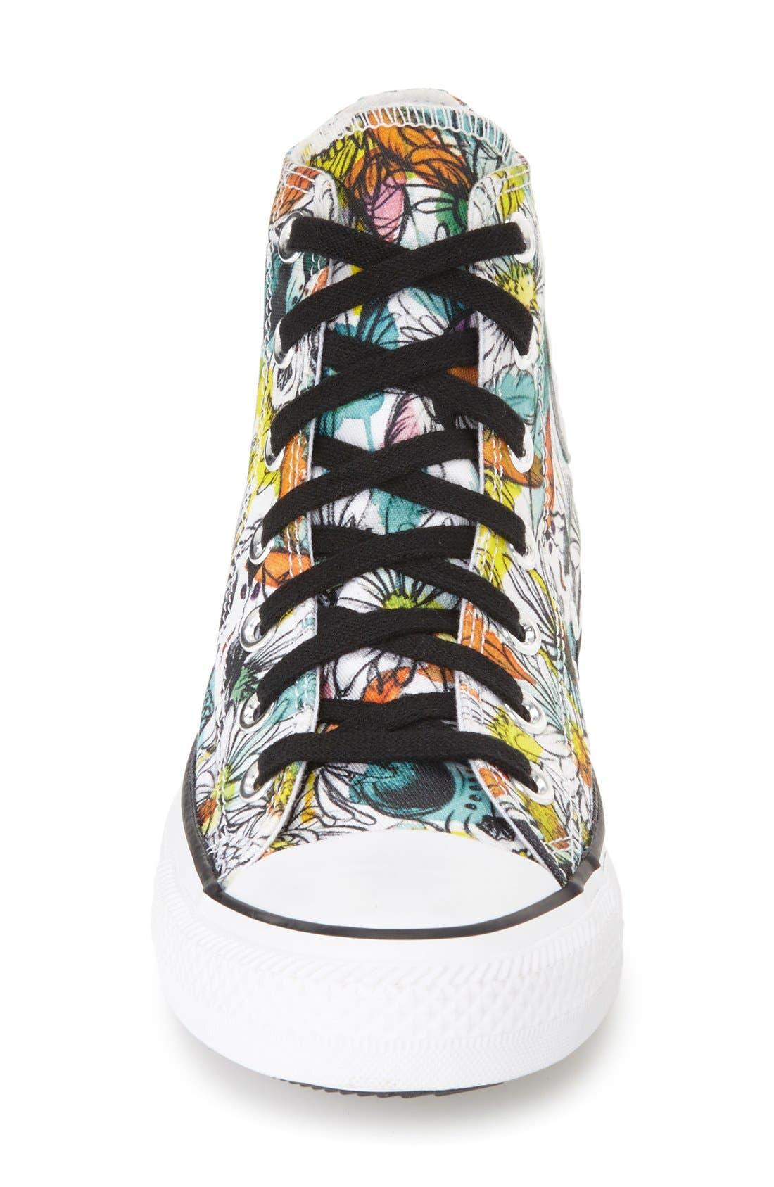 Alternate Image 3  - Converse Chuck Taylor® All Star® 'Floral' High Top Sneaker (Women)