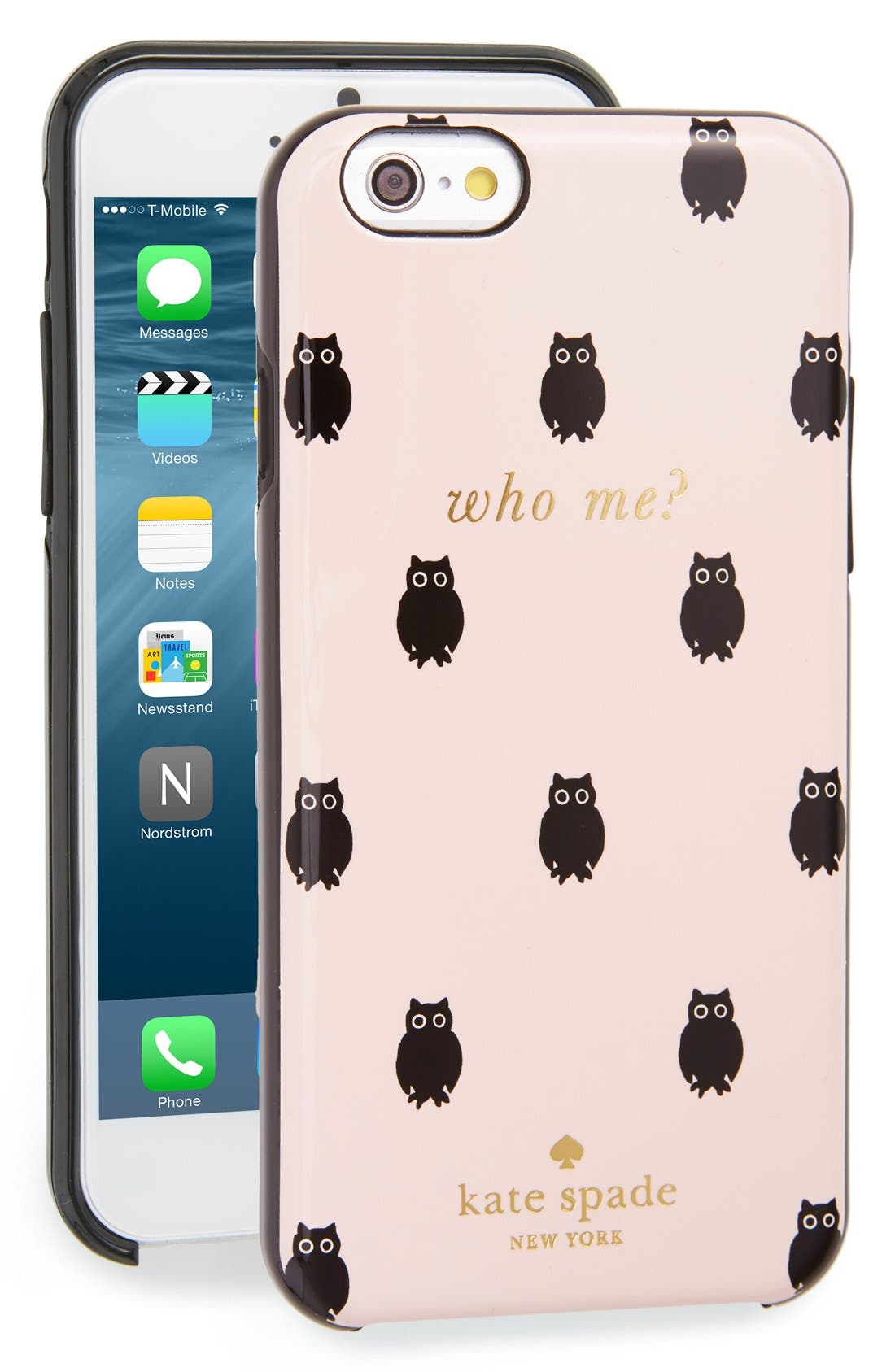 Alternate Image 1 Selected - katespade new york'who me?' iPhone 6 & 6s case (Nordstrom Exclusive)