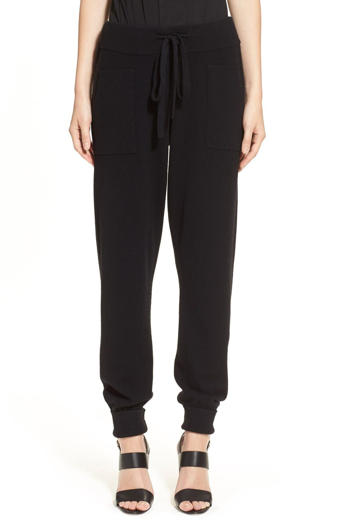 Alternate Image 1  - Donna Karan Collection Midweight Rib Jogger Pants