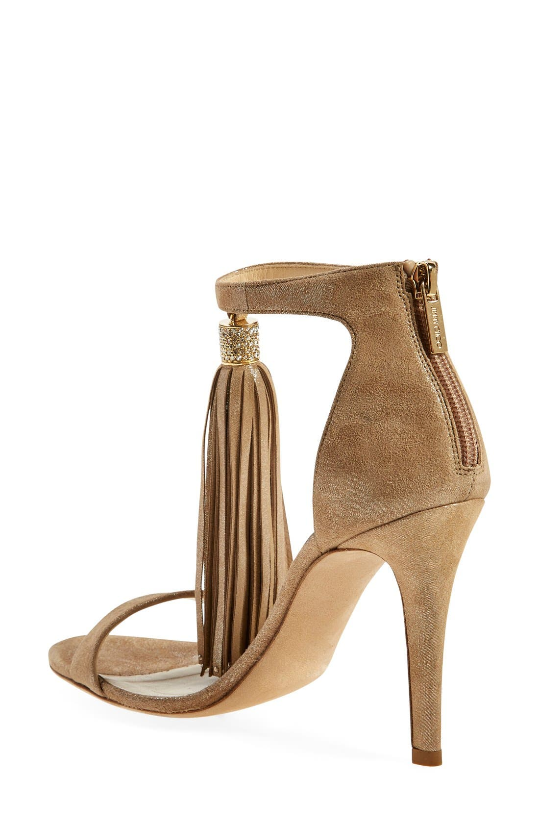 Alternate Image 2  - Jimmy Choo 'Viola' Ankle Strap Sandal (Women)