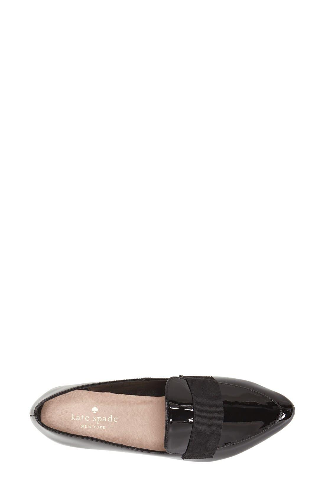 Alternate Image 3  - kate spade new york 'corina' pointy toe loafer (Women)