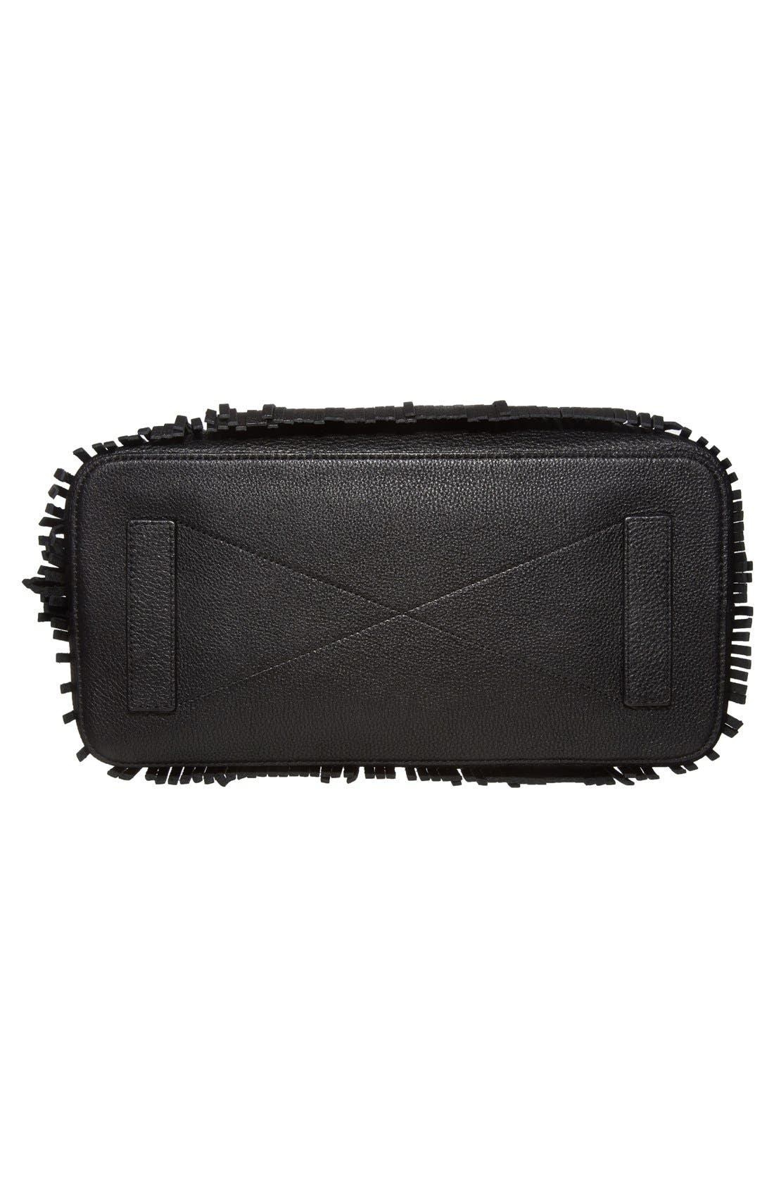Alternate Image 6  - MillyFringed Leather Tote
