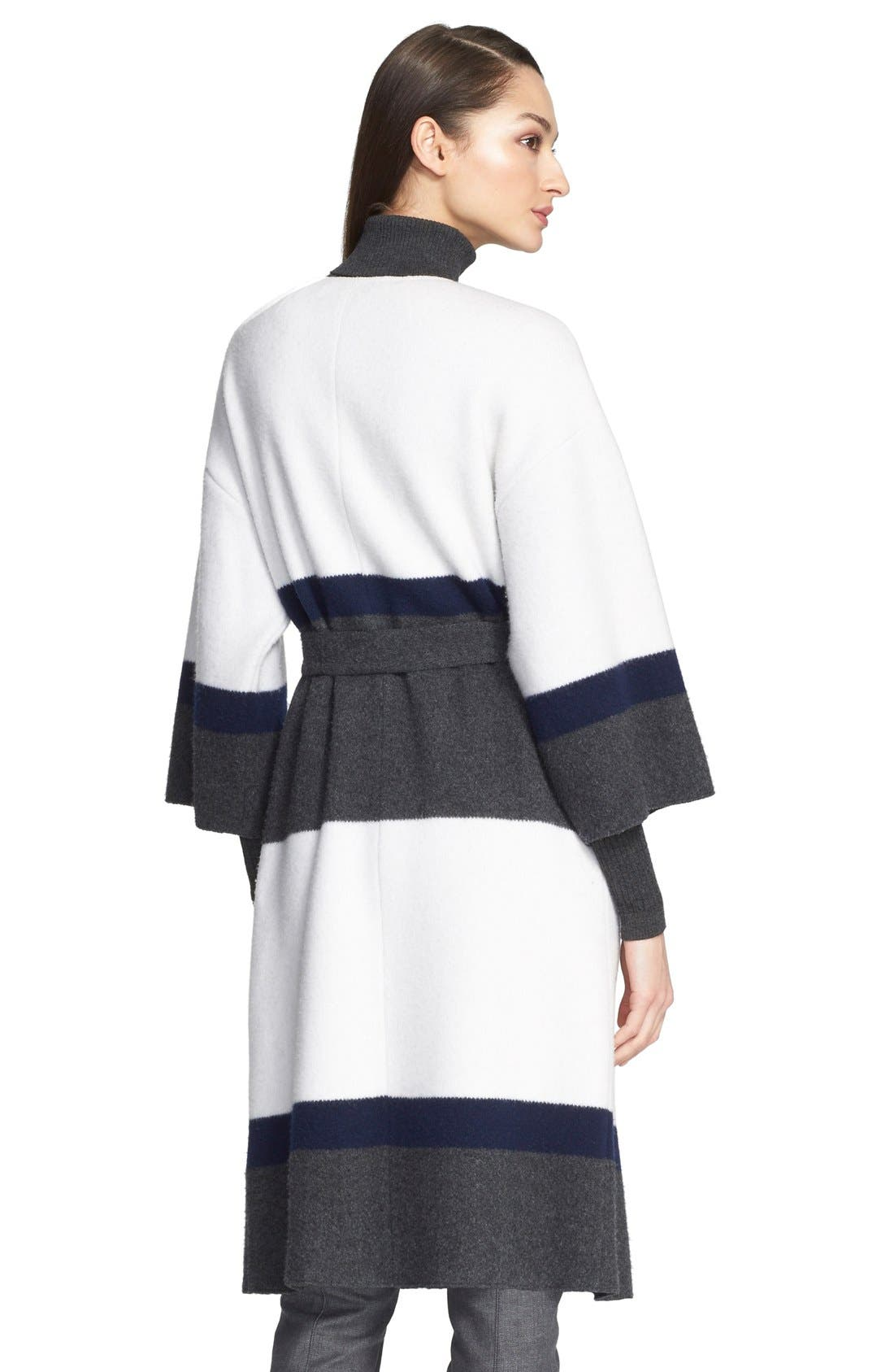 Alternate Image 3  - St. John Collection Felted Wool & Cashmere Coat