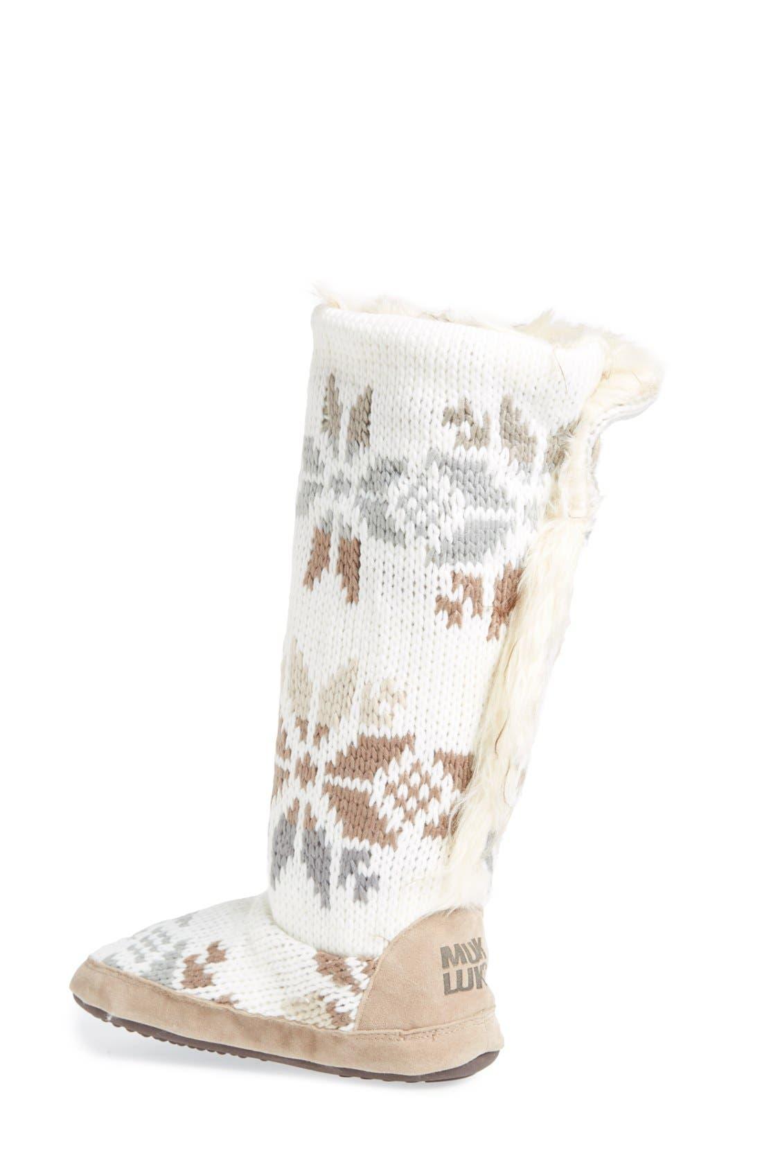 Alternate Image 2  - MUK LUKS 'Maleah' Slipper Boot (Women)