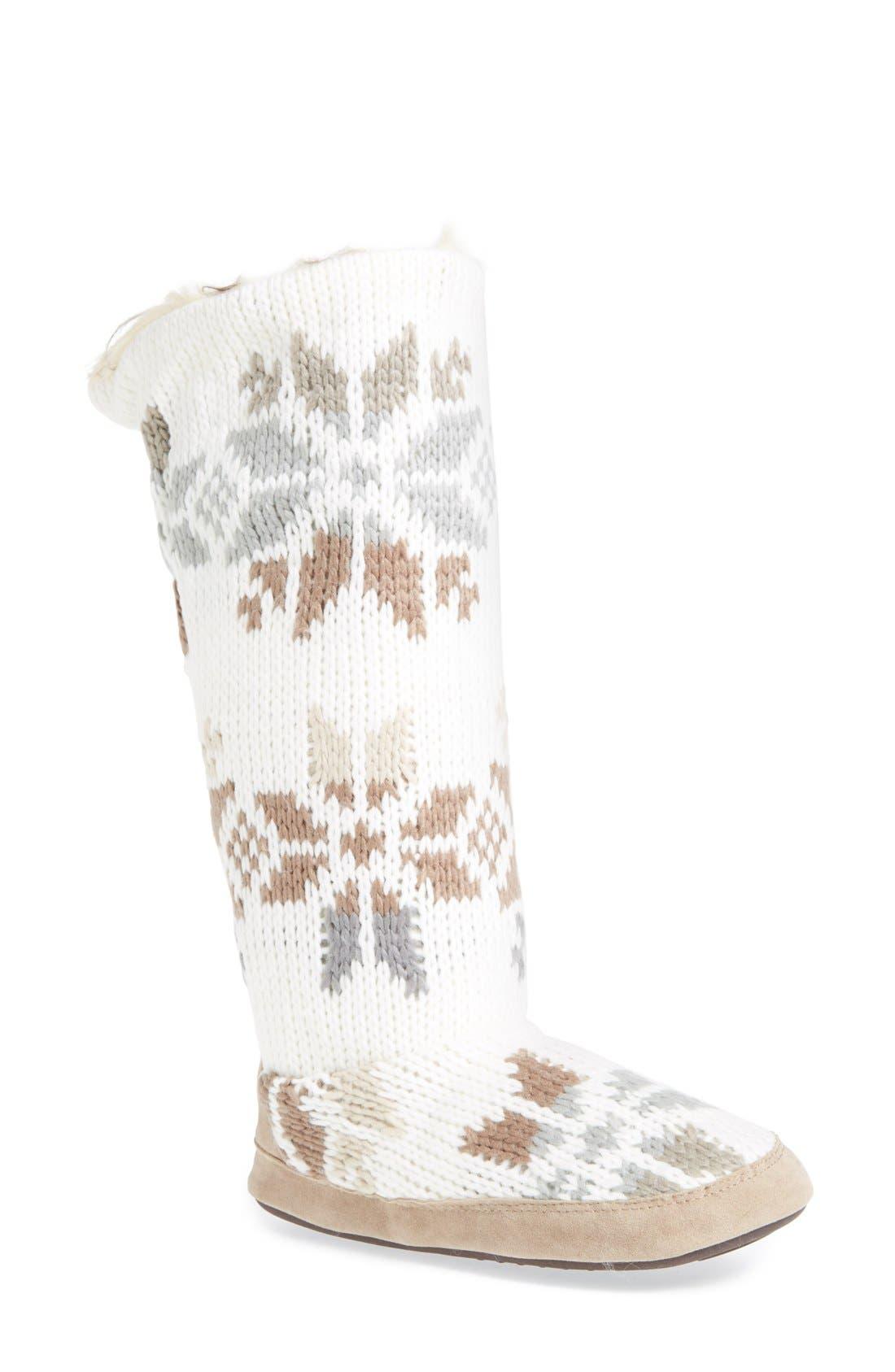 Alternate Image 1 Selected - MUK LUKS 'Maleah' Slipper Boot (Women)