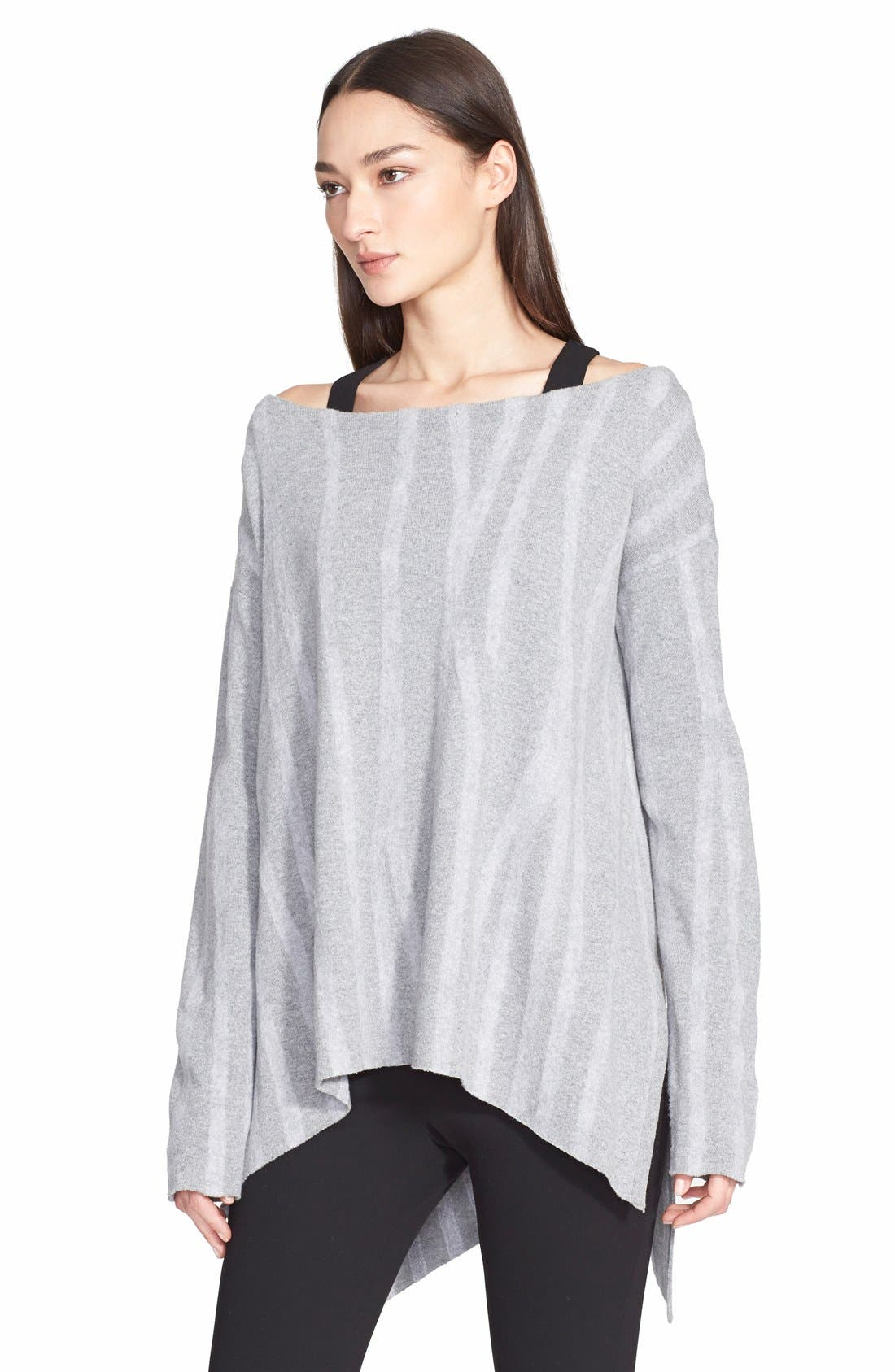 Alternate Image 1 Selected - Donna Karan New York Needle Punch Wool Sweater