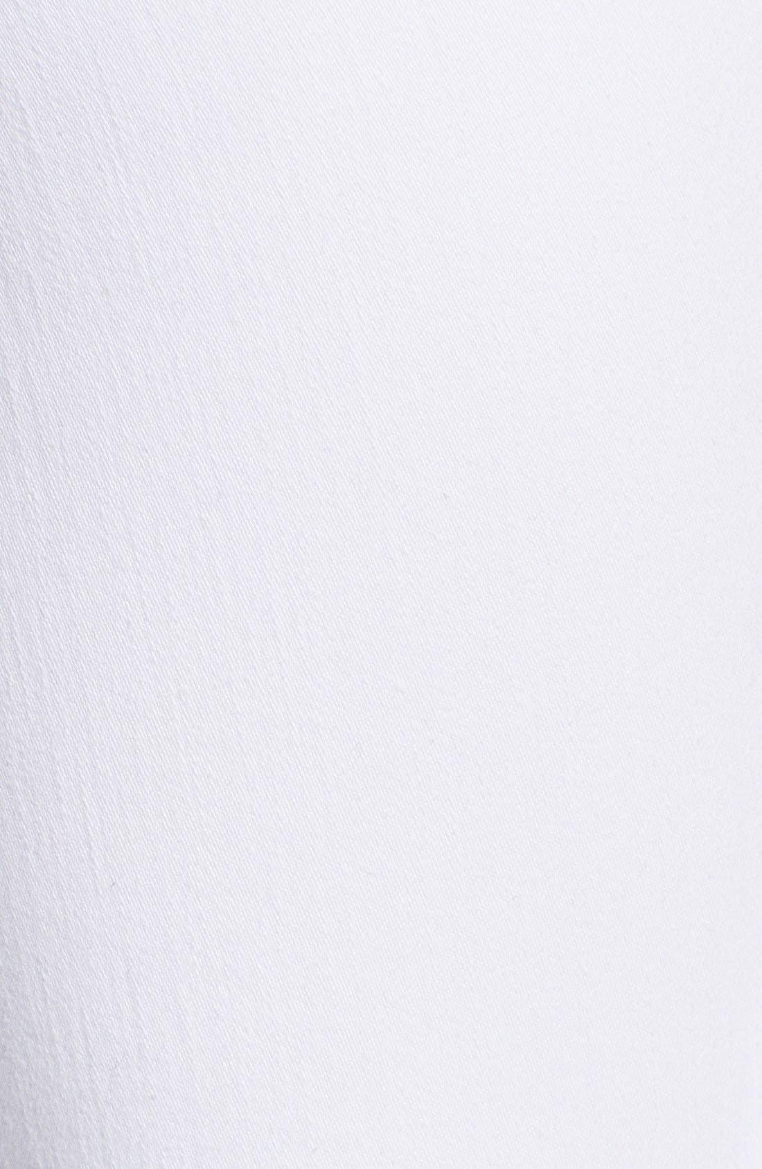 Alternate Image 6  - PAIGE 'Verdugo' Ankle Skinny Jeans (Ultra White)