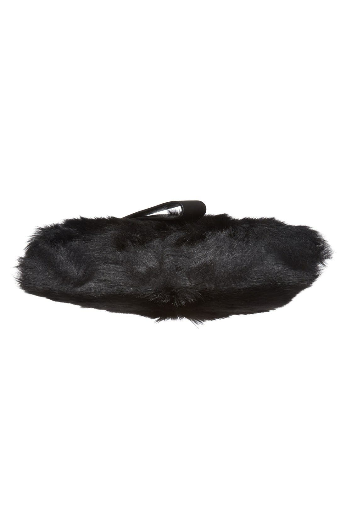 Alternate Image 6  - MARC BY MARC JACOBS Shearling Square Clutch