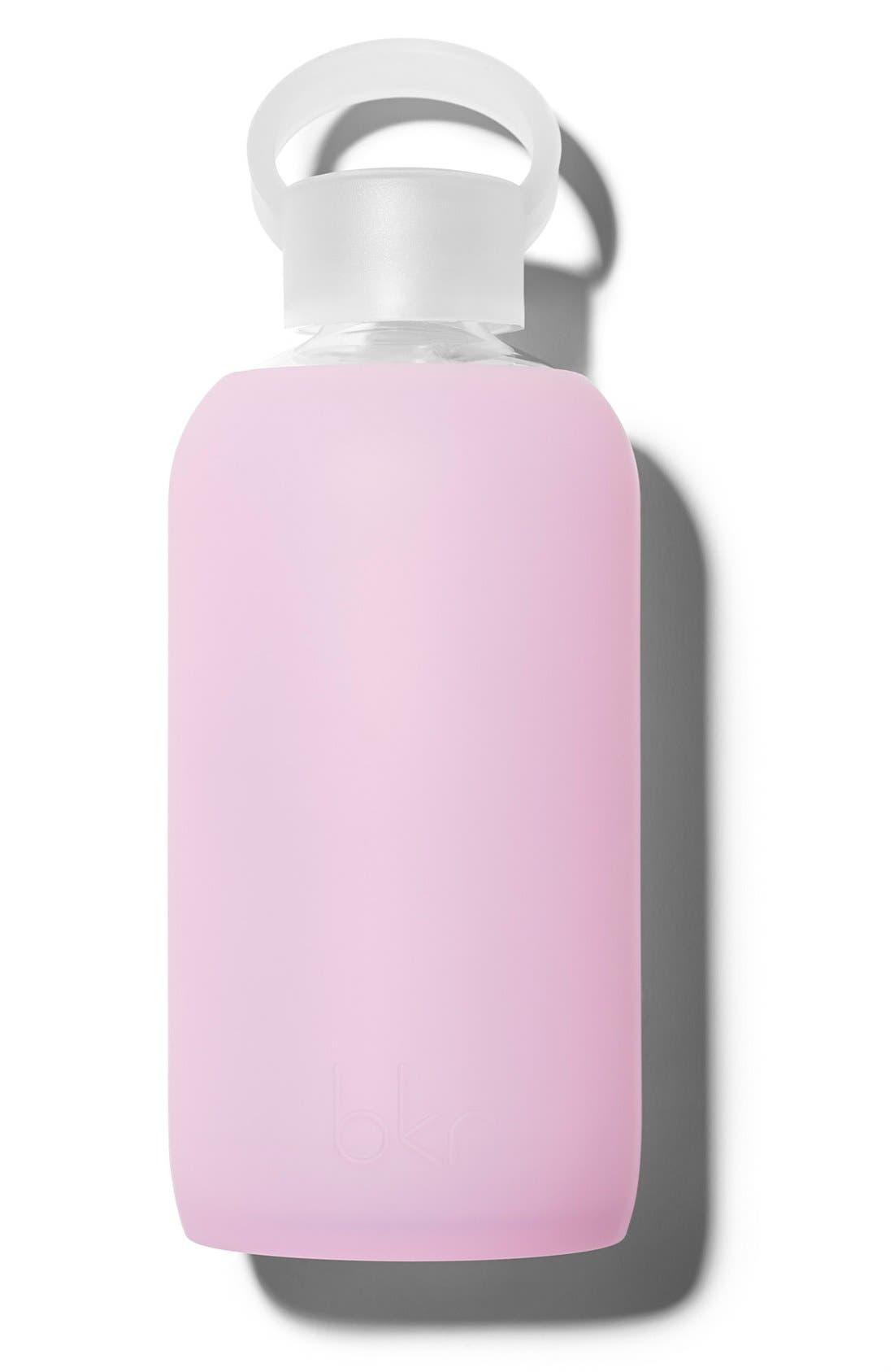 Alternate Image 1 Selected - bkr® 16-Ounce Glass Water Bottle
