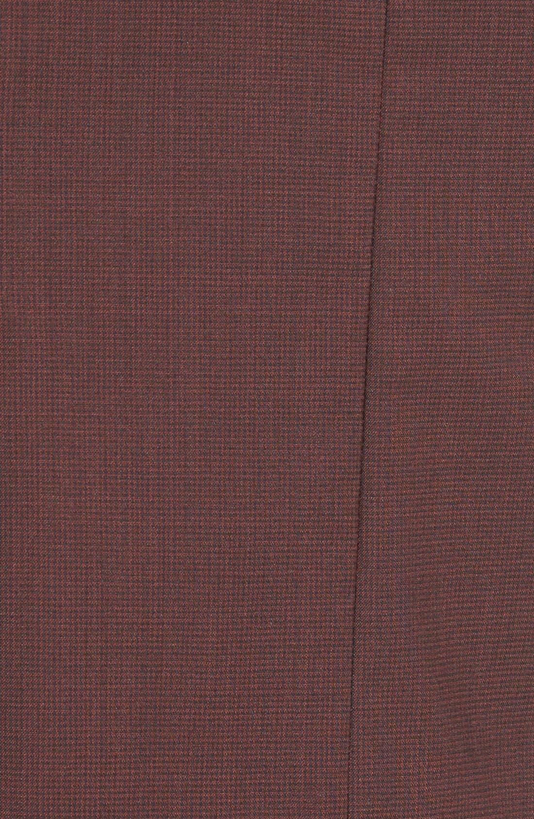Alternate Image 5  - BOSS 'Vabina' Wool Pencil Skirt