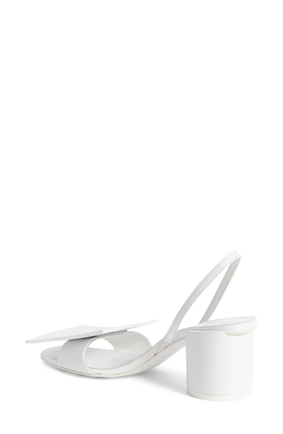 Alternate Image 2  - Jacquemus 'Rond Carré' Slingback Sandal (Women)
