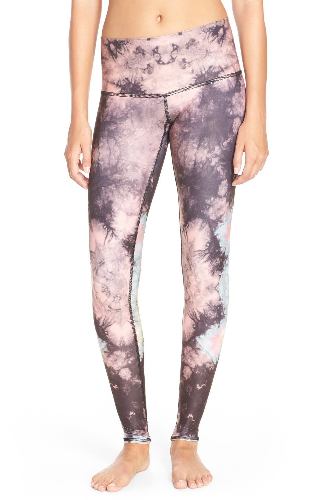 Alternate Image 1 Selected - teeki 'Eagle Feather Hot Pant' Leggings