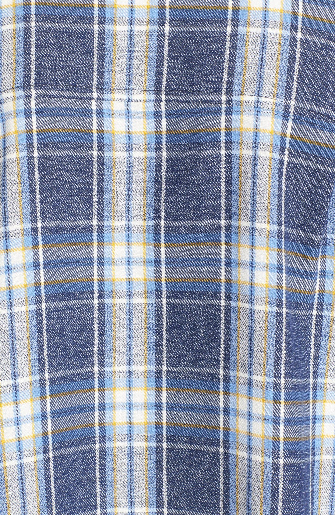 Alternate Image 5  - 6397 'Lori' Cotton Flannel Shirt