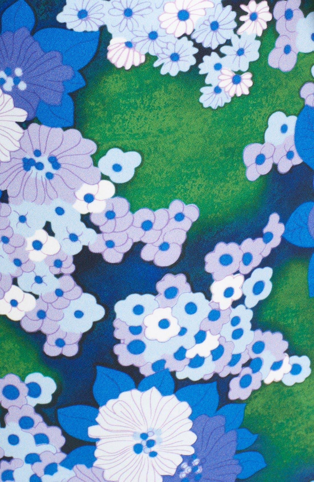 Alternate Image 5  - Carven Floral Print A-Line Skirt