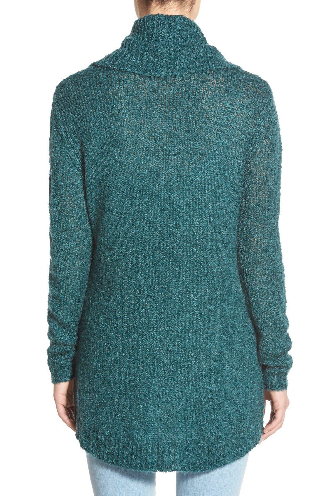Alternate Image 2  - BP. Cowl Neck Tunic Sweater