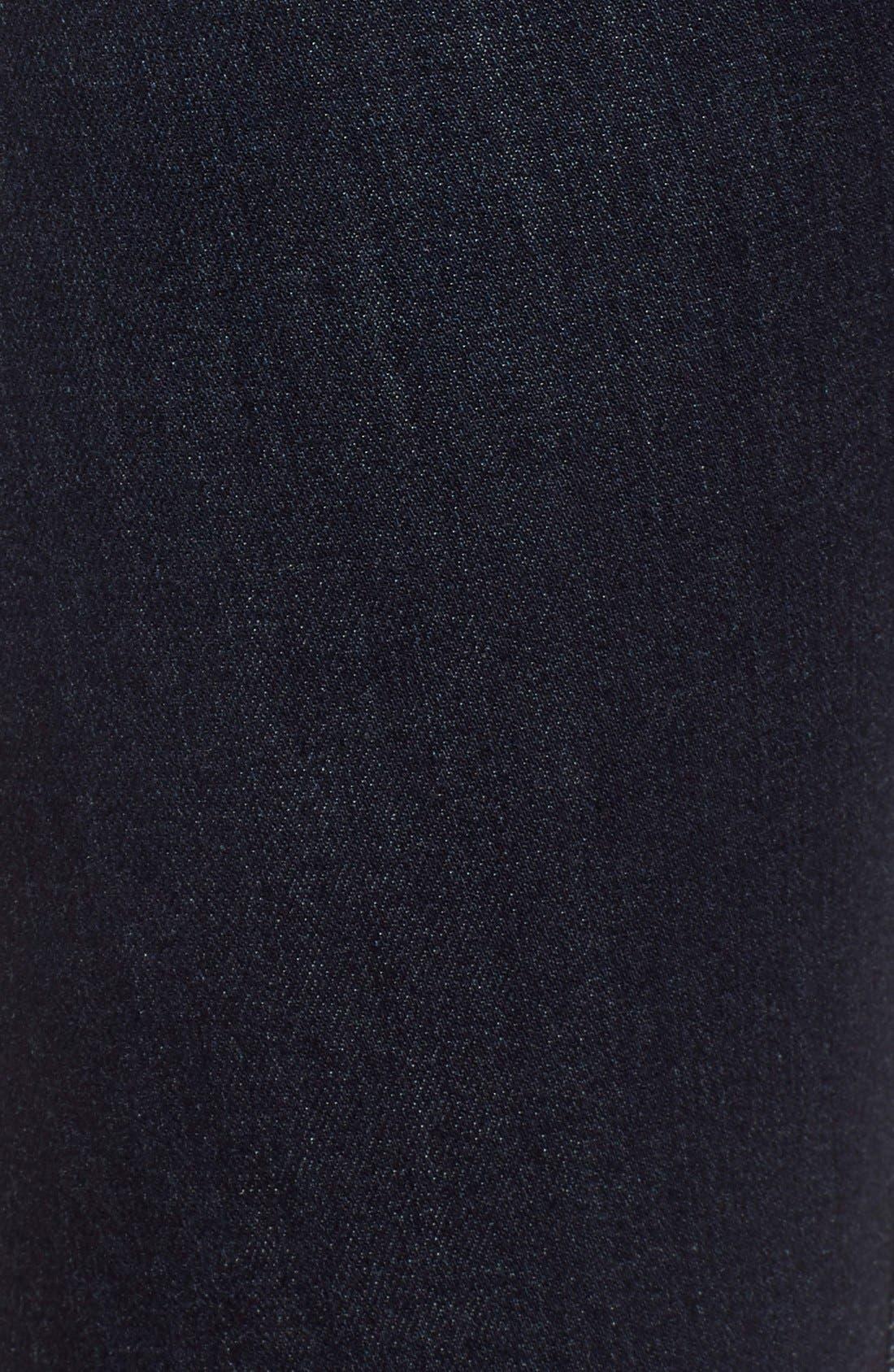 Alternate Image 5  - AG The Farrah High Waist Skinny Jeans (Brooks)