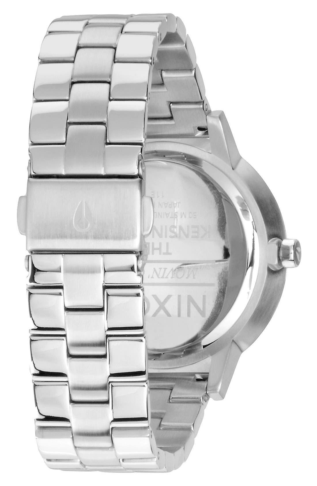 Alternate Image 2  - Nixon 'The Kensingon' Bracelet Watch, 37mm