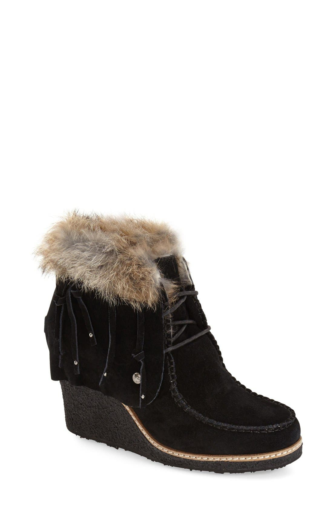 Alternate Image 1 Selected - Australia Luxe Collective 'Mantra' Genuine Shearling & Genuine Rabbit Fur Boot (Women)