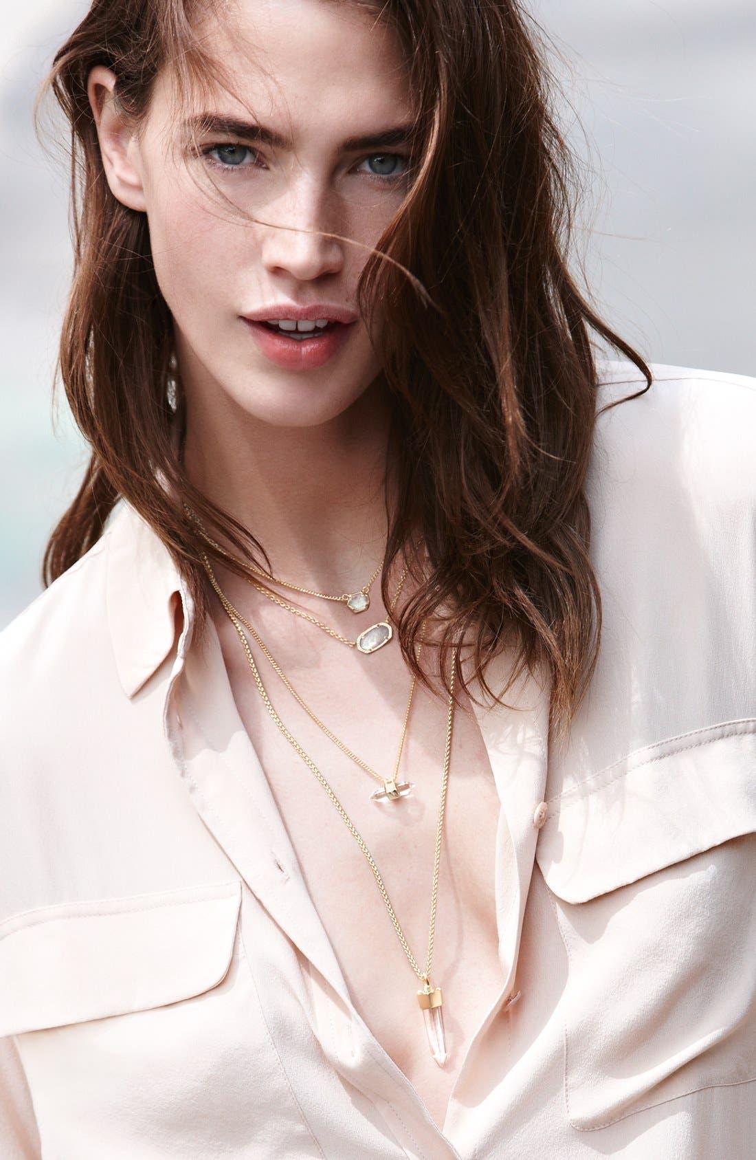 Alternate Image 3  - Kendra Scott 'Amanda' Pendant Necklace