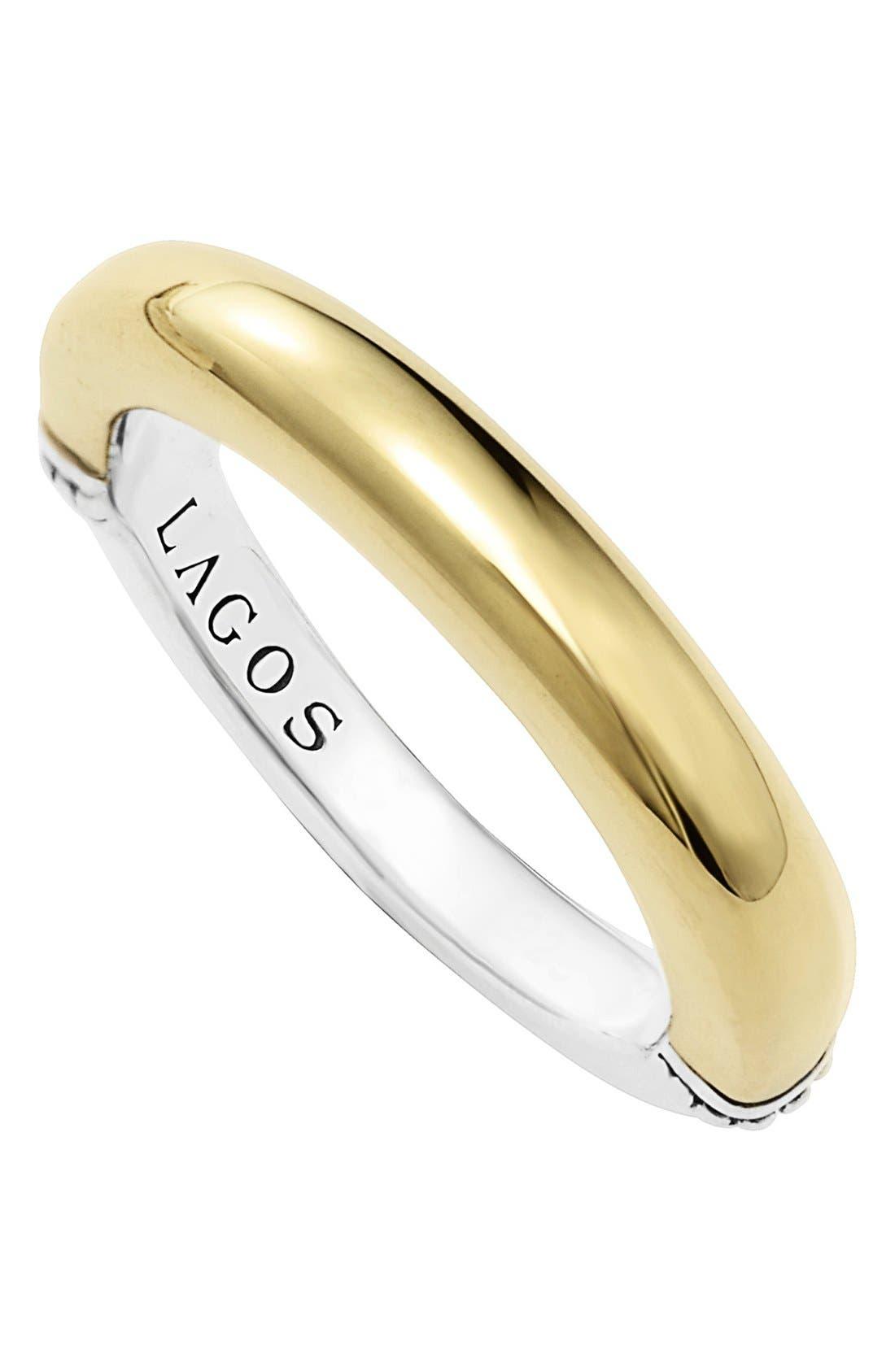 LAGOS Smooth Stacking Ring
