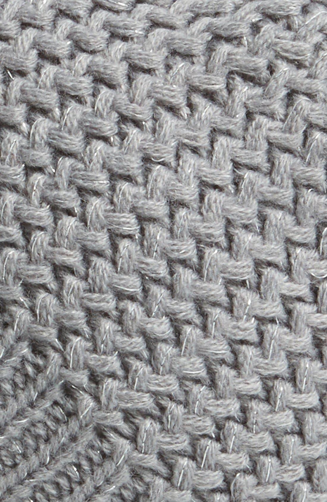 Alternate Image 2  - Capelli of New York Metallic Knit Beanie