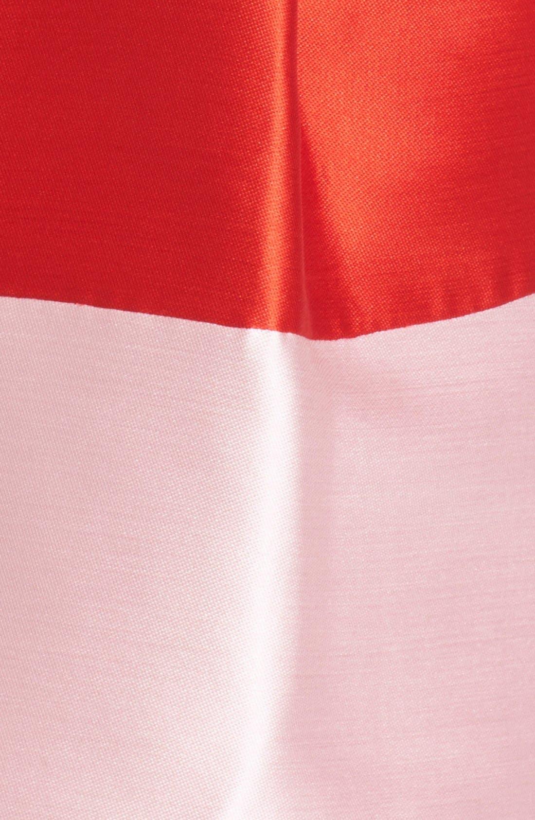Alternate Image 5  - kate spade new york colorblock fit & flare dress