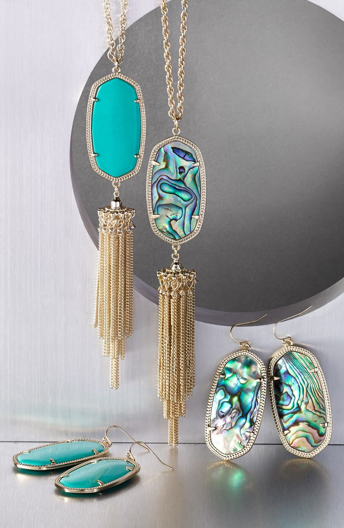 Alternate Image 4  - Kendra Scott Rayne Stone Tassel Pendant Necklace