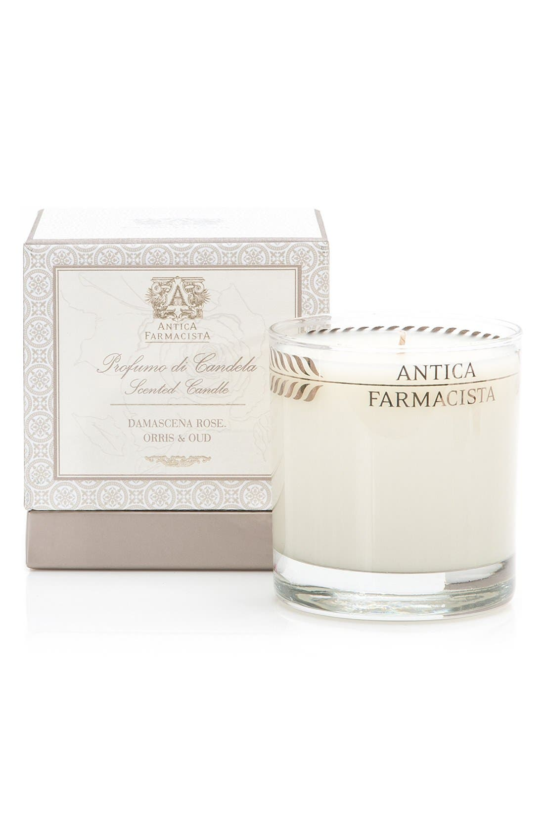 ANTICA FARMACISTA 'Damascena Rose, Orris & Oud' Candle
