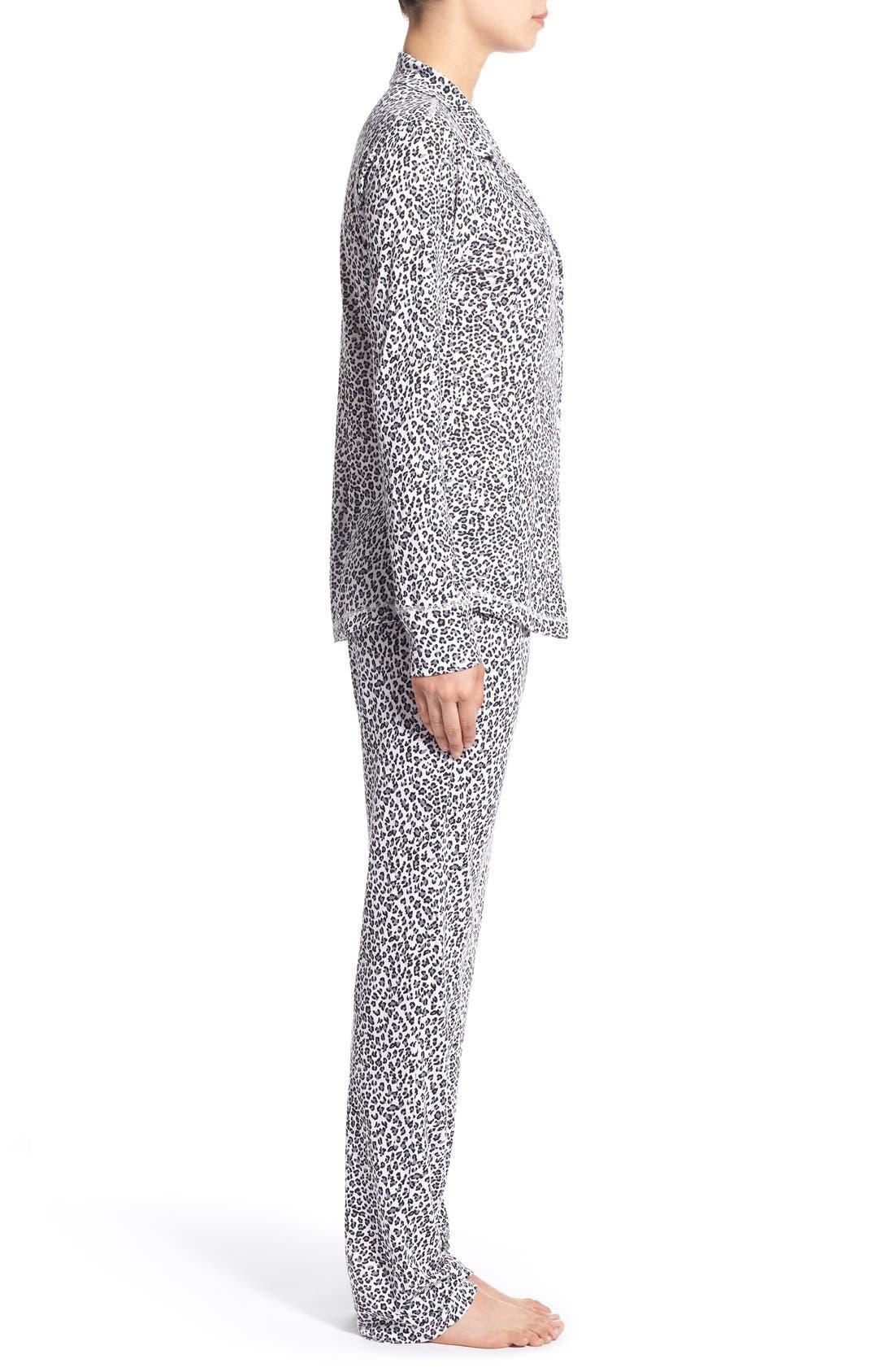 Alternate Image 3  - Love+Grace 'Cassie' Print Pajamas