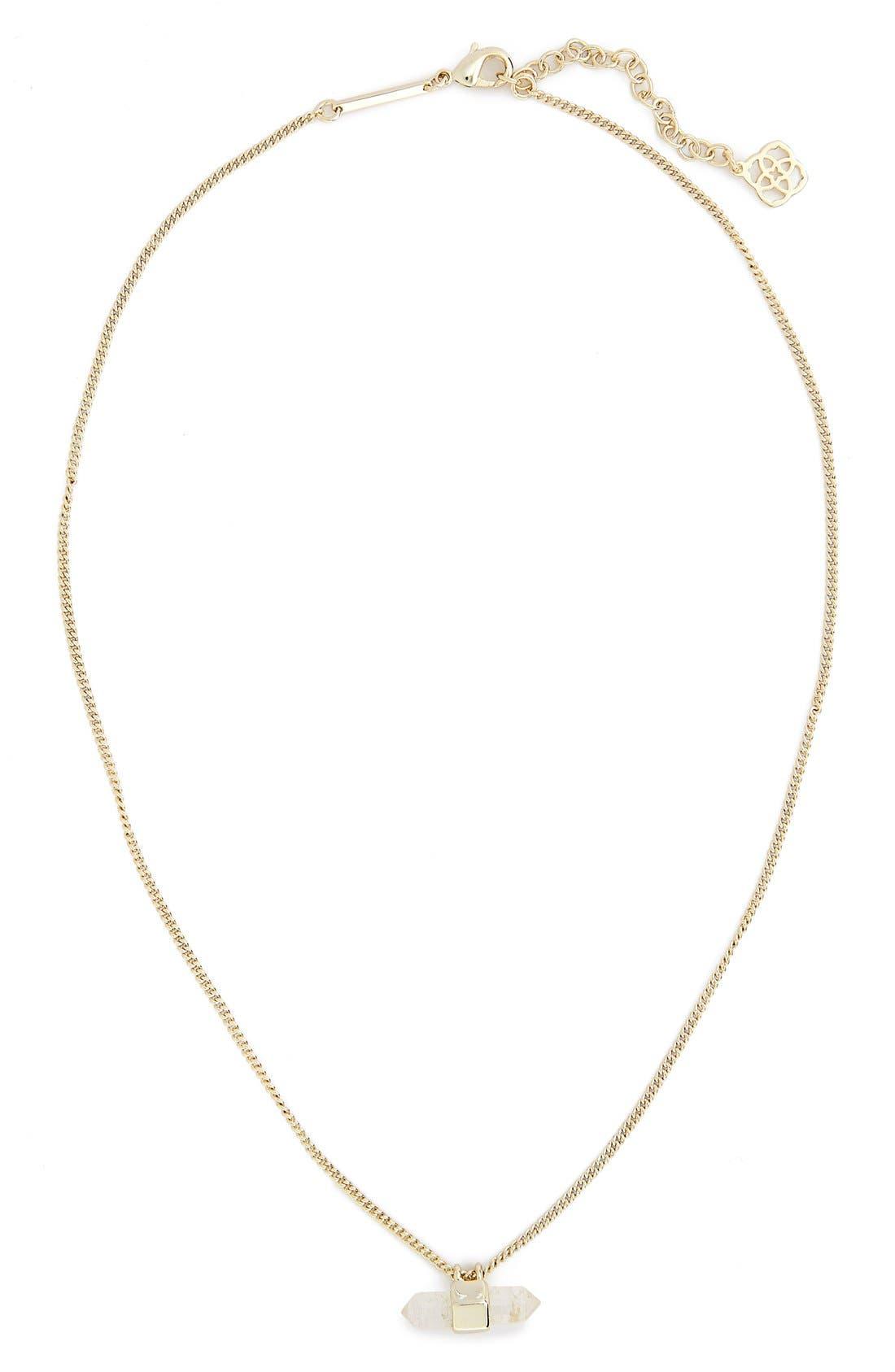 Main Image - Kendra Scott 'Amanda' Pendant Necklace