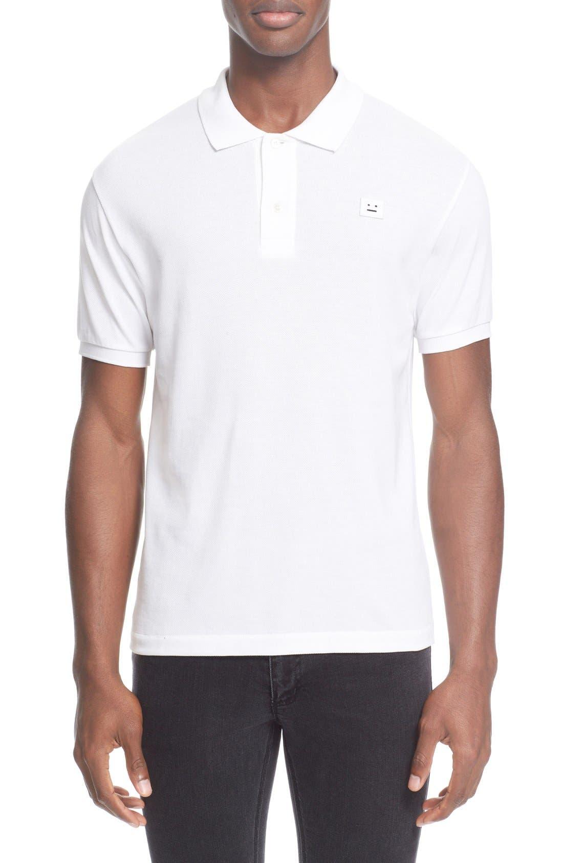 ACNE STUDIOS 'Kolby' Piqué Polo Shirt