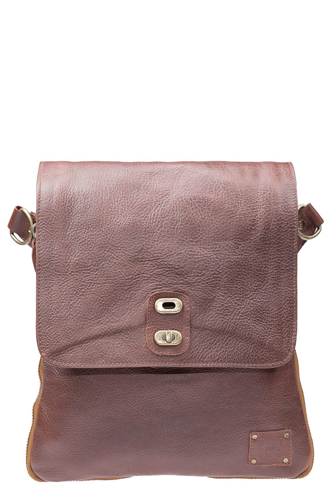 Alternate Image 1 Selected - Will Leather Goods 'Otto' Crossbody Bag