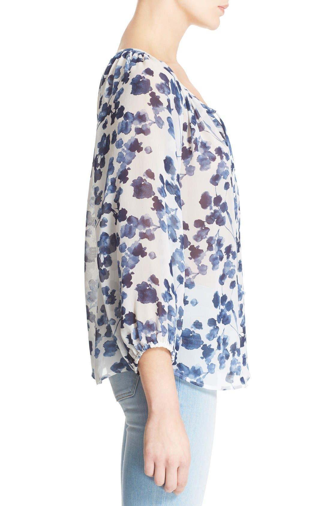 Alternate Image 3  - Joie 'Roachan' Floral Print Blouse (Nordstrom Exclusive)