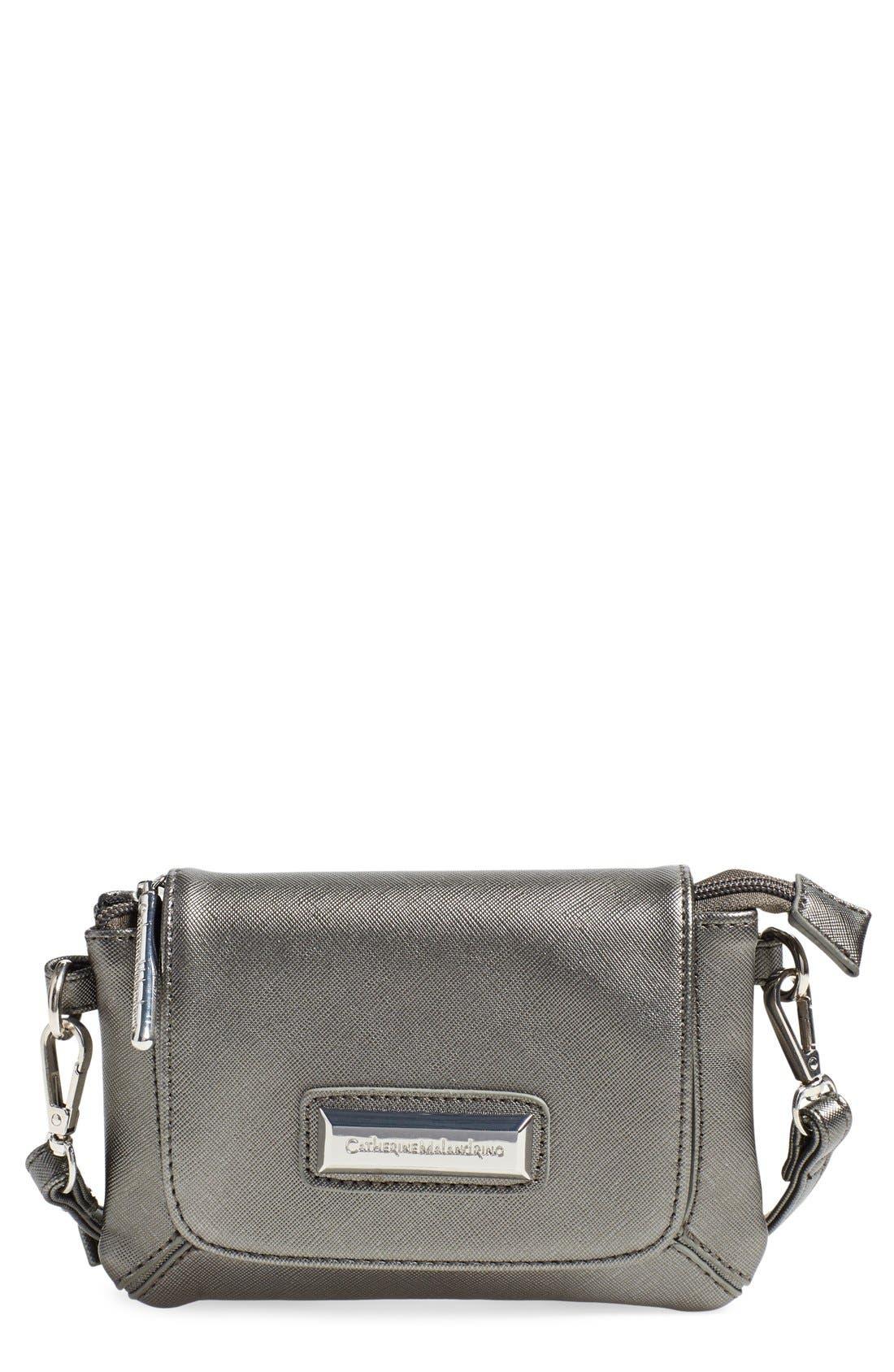 Alternate Image 1 Selected - Catherine Catherine Malandrino 'Mini Clara' Crossbody Bag