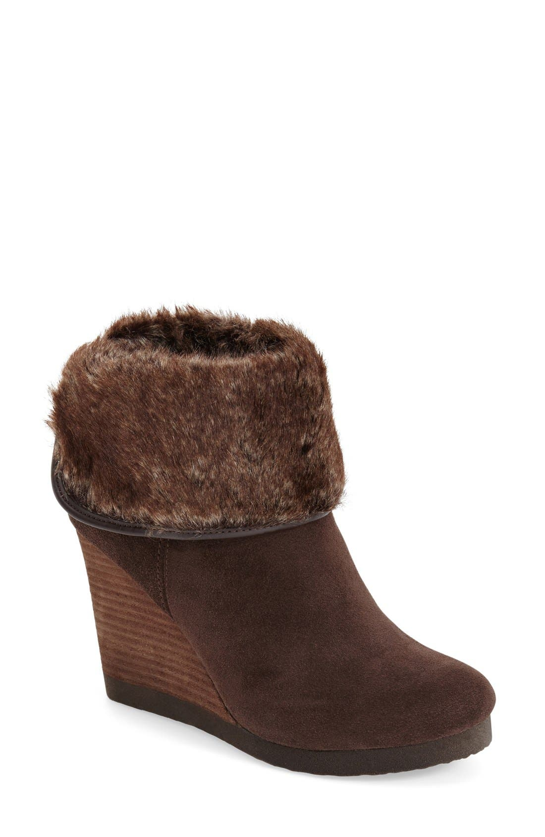 Main Image - Lucky Brand 'Torynn' Wedge Bootie
