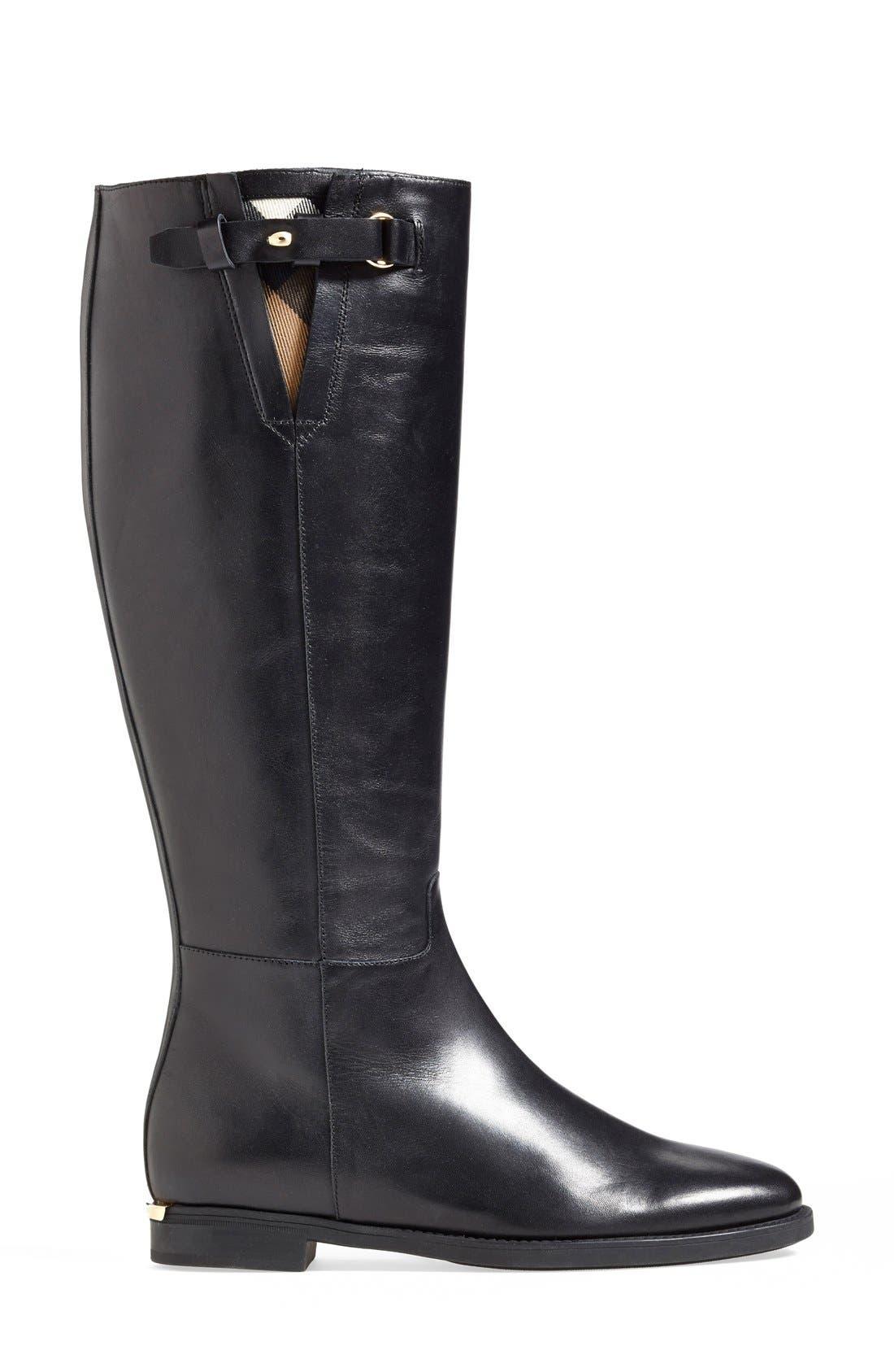 Alternate Image 4  - Burberry 'Mapledene' Riding Boot (Women)