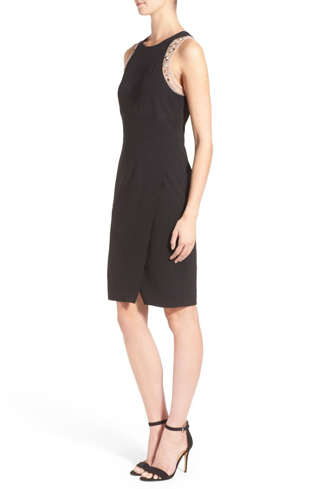 Alternate Image 3  - Ivanka Trump Crepe Sleeveless Dress