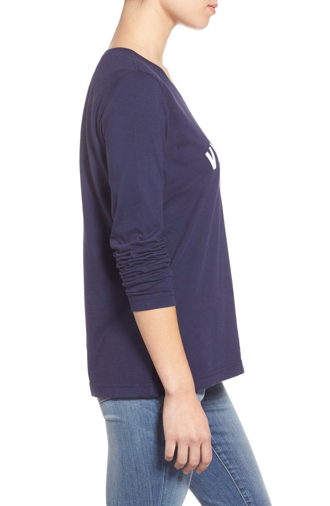 Alternate Image 4  - Vineyard Vines 'Collegiate' Long Sleeve Tee