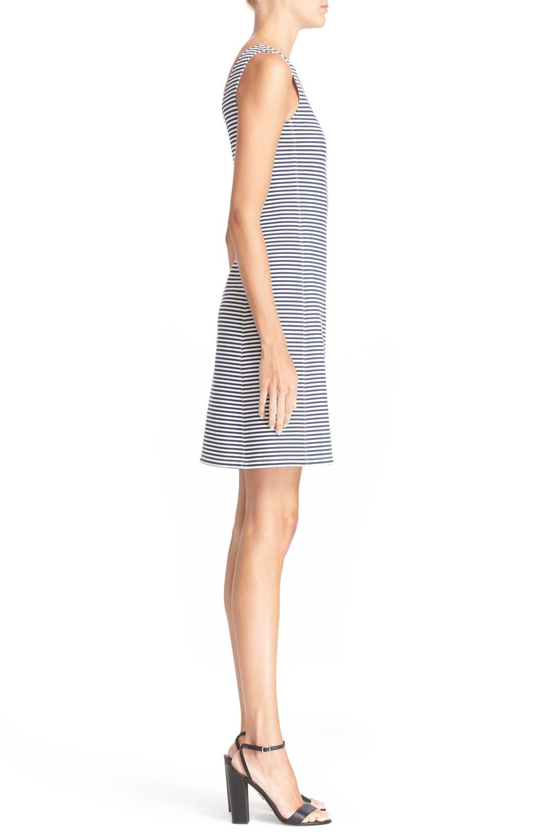 Alternate Image 3  - Theory 'Mivrill' Stripe Sheath Dress
